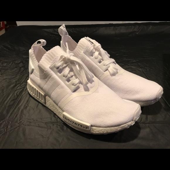 le adidas nmd r1 - white giappone mens dimensione 115 poshmark